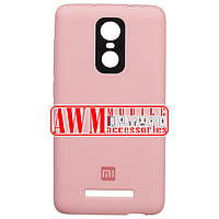 Накладка SILICONE CASE для Xiaomi Redmi Note 3 (розовый)