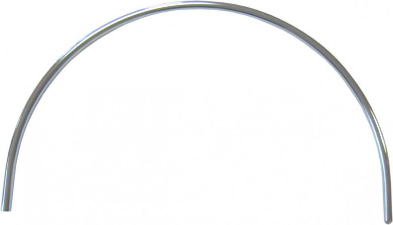 R29 дуга хромированная D=25мм (длина – 94см)