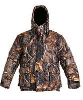 Камуфлированая зимняя куртка микрофибра темнгий лес