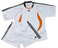 Форма футбольна без номера MATSA MA-0073-5(L) AD (нейлон, розмір L-50-52, білий, шорти білі)