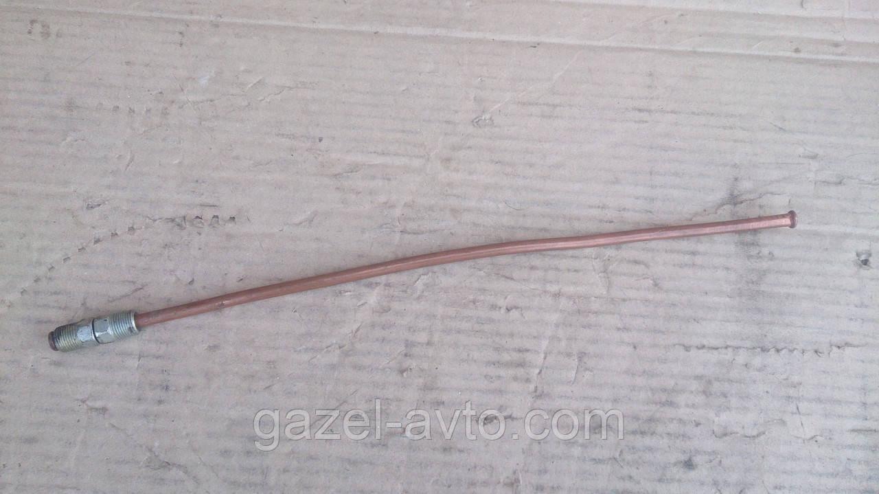 Трубка тормозная Д-6 40 см медь Волга,УАЗ,ГАЗ 53
