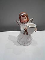 Статуэтка Ангел подсвечник 12 см