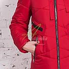 Модное женское пальто новинка сезона зима 2017-2018 - (модель кт-15), фото 3