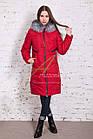 Модное женское пальто новинка сезона зима 2017-2018 - (модель кт-15), фото 4