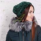 Модное женское пальто новинка сезона зима 2017-2018 - (модель кт-15), фото 7