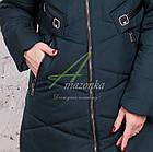 Модное женское пальто новинка сезона зима 2017-2018 - (модель кт-15), фото 8
