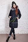 Модное женское пальто новинка сезона зима 2017-2018 - (модель кт-15), фото 10