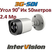 Видеокамера 3G-SDI-2428WIDE InterVision 2.4Мр ИК 50 метров