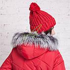 Длинное женское пальто сезона зима 2017-2018 - (модель кт-197), фото 6