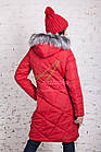 Длинное женское пальто сезона зима 2017-2018 - (модель кт-197), фото 7