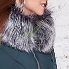 Длинное женское пальто сезона зима 2017-2018 - (модель кт-197), фото 5