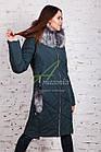 Длинное женское пальто сезона зима 2017-2018 - (модель кт-197), фото 2