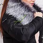 Длинное женское пальто сезона зима 2017-2018 - (модель кт-197), фото 8