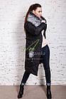 Длинное женское пальто сезона зима 2017-2018 - (модель кт-197), фото 10