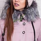 Молодежное женское пальто сезона зима 2017-2018 - (модель кт-202), фото 6