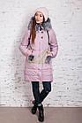 Молодежное женское пальто сезона зима 2017-2018 - (модель кт-202), фото 7