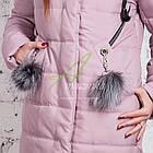 Молодежное женское пальто сезона зима 2017-2018 - (модель кт-202), фото 8