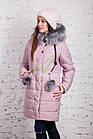 Молодежное женское пальто сезона зима 2017-2018 - (модель кт-202), фото 9