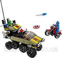Конструктор Bela Super Heroes 10238 Капитан Америка против Гидры 171дет.