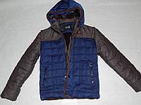 Стильная зимняя куртка для мальчика 6-9 лет