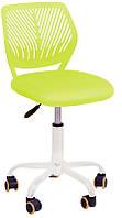Детское компьютерное кресло JONNY green, высота кресла регулируется, компьютерное кресло на колесика