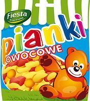 Желейные конфеты Pianki owocowe (фруктовое ассорти) Fiesta Польша 80г
