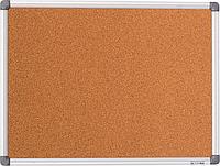 Доска пробковая, 45*60 см., алюминиевая рамка. BuroMax