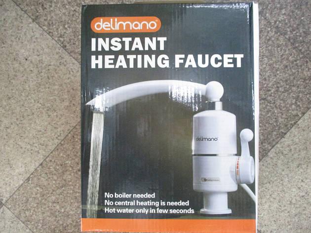 Проточный электро нагреватель воды Делимано Instant Heating Faucet Delimano ОПТОМ, фото 2