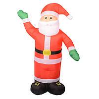 Надувной Санта Клаус 2,4 м