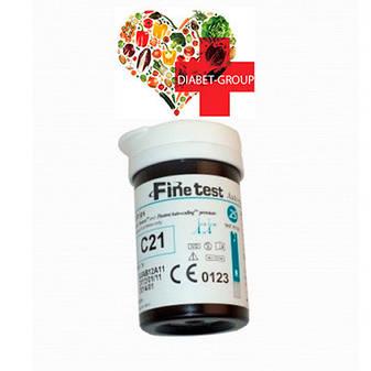 Тест-полоски Finetest premium 50 2 упаковки, фото 2