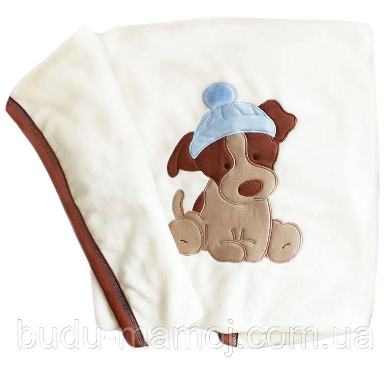 Плед одеяло для новорожденного в роддом для девочки