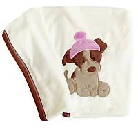 Плед одеяло для новорожденного в роддом год собаки