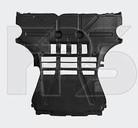 Защита двигателя пластиковая Smart Fortwo 2008 - 2014, центральная (FPS)