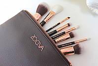 Кисти Zoeva Luxury Set Топленный Шоколад (8 предметов)