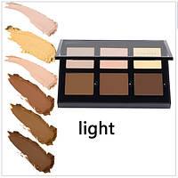 Палетка кремовых консилеров Anastasia Beverly Hills Contour Cream Kit: 6 оттенков (LIGHT)