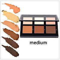 Палетка кремовых консилеров Anastasia Beverly Hills Contour Cream Kit: 6 оттенков (MEDIUM)