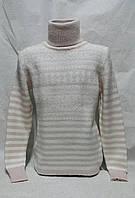 Нарядный свитер для девочек 128,140,152,164 роста полушерсть Hope