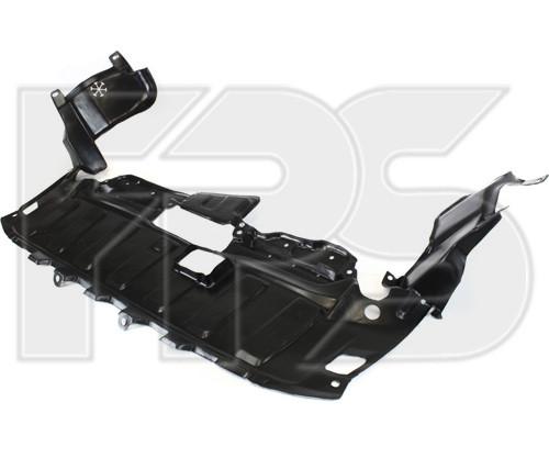 Защита двигателя Honda CRV (02-06) пластик