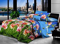 Двуспальный набор постельного белья 3D 180*220