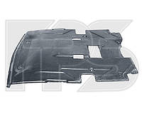 Защита двигателя Mercedes W124 E-Class средняя, пластиковая