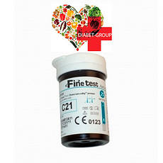 Тест-полоски Finetest premium 50 5 упаковок, фото 3