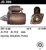 Стартер восстановленный Hyundai Accent, Elantra, Getz, Lantra, Pony, Sonata; Mitsubishi Colt, Galant, L200, L300, Lancer, Pajero, Space Wagon 90-