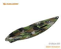 Одноместный каяк OnWawe-300 Камуфляж