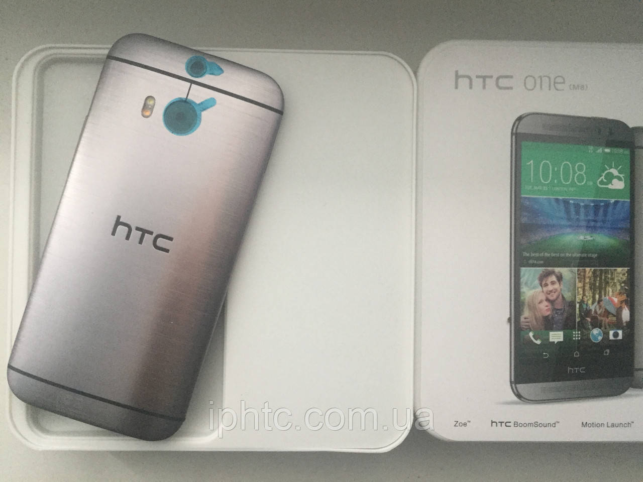 HTC One M8 16GB Grey 4G. Европа.  Новый., фото 1