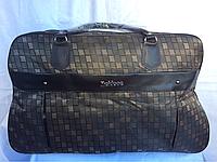 Коричневая большая сумка