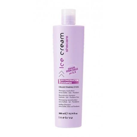 Шампунь для сухих и поврежденных волос Inebrya Shecare Reconstructor Shampoo, 300 мл.