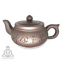 """Глиняный чайник """"Старый колодец"""" 400 мл"""
