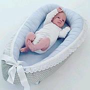 Гнездышко кокон babynest для новорожденных