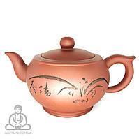 """Глиняный чайник """"Тросник"""" 350 мл"""