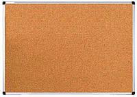 Доска пробковая, 100*150 см., алюминиевая рамка. UKRBOARDS, фото 1